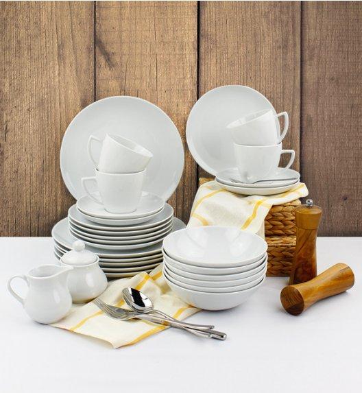 LUBIANA BOSS BEATA Serwis obiadowo - kawowy 71 el / 12 osób / porcelana