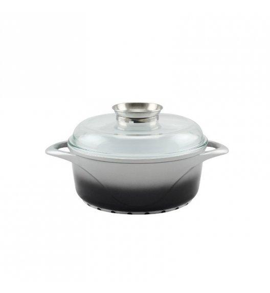 STARKE PROVA Garnek ceramiczny + pokrywka z aromatyzerem 20 cm