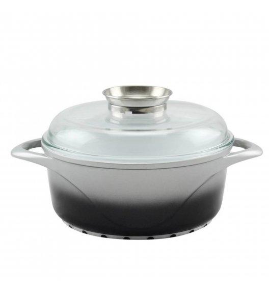 SATRKE PROVA Garnek ceramiczny 6,1 + pokrywka z aromatyzerem Ø28 cm