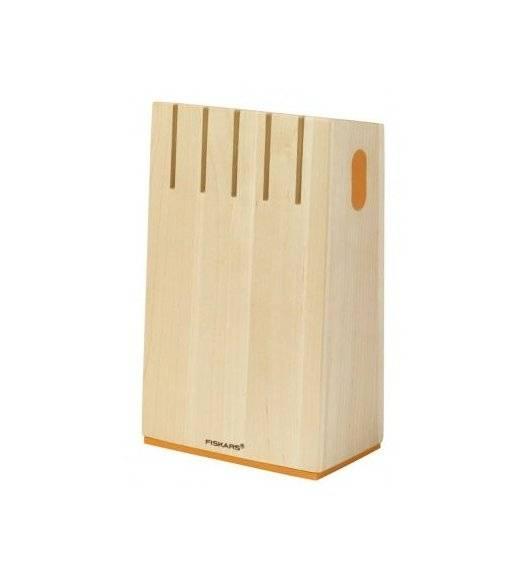 FISKARS FUNCTIONAL FORM Pusty blok na 5 noży / drewno brzozowe