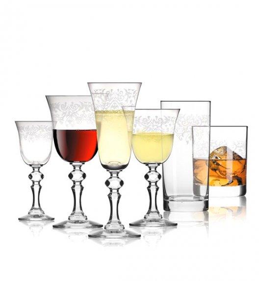 WYPRZEDAŻ! KROSNO KRISTA DECO Komplet szklanek i kieliszków 20 el / szkło najwyższej jakości