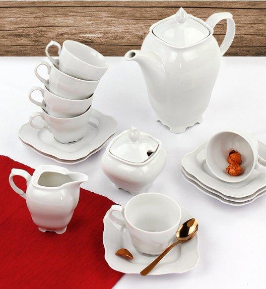 WYPRZEDAŻ! CHODZIEŻ ROMANCE C000 Serwis kawowy 10 el / 4 osoby / porcelana