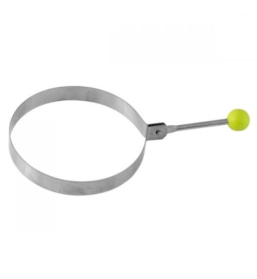 TADAR Forma metalowa do robienia naleśników i jajek sadzonych 8,5 cm / stal nierdzewna