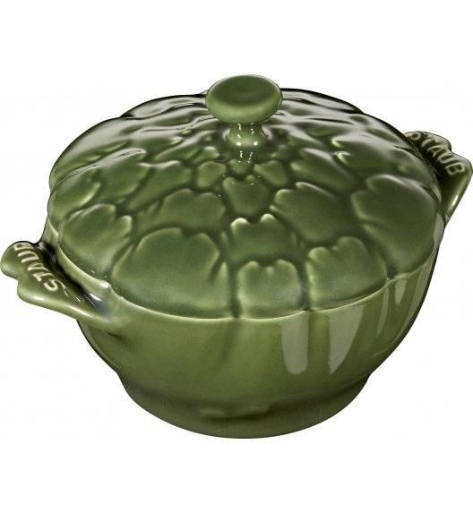 STAUB SPECIAL COCOTTE Naczynie żaroodporne karczoch / 450 ml / zielony / ceramika