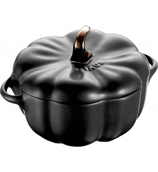 STAUB SPECIAL COCOTTE Naczynie żaroodporne dynia / 500 ml / czarny / ceramika