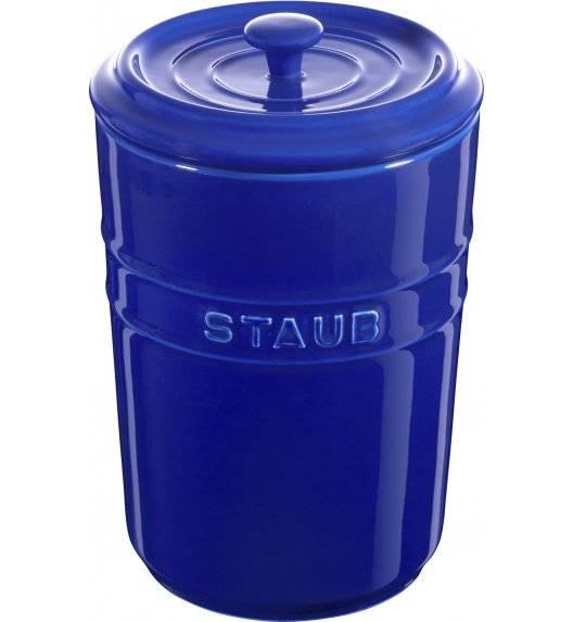 STAUB STORAGE Pojemnik do przechowywania / 1,5 l / niebieski / ceramika