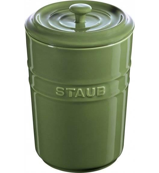STAUB STORAGE Pojemnik do przechowywania / 1,5 l / zielony / ceramika