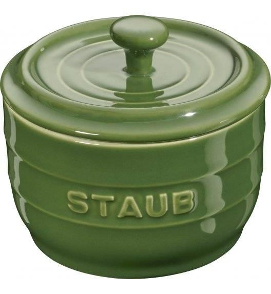 STAUB STORAGE Pojemnik na sól / 250 ml / zielony / ceramika