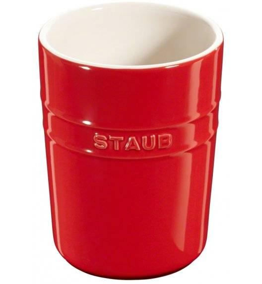 STAUB STORAGE Pojemnik do przechowywania / 900 ml / czerwony / ceramika