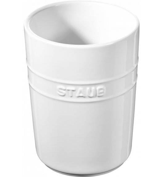 STAUB STORAGE Pojemnik do przechowywania / 900 ml / biały / ceramika