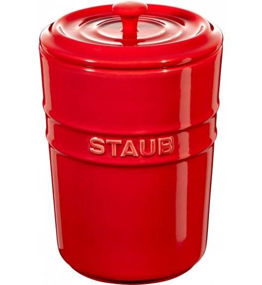 STAUB STORAGE Pojemnik do przechowywania / 1 l / czerwony / ceramika