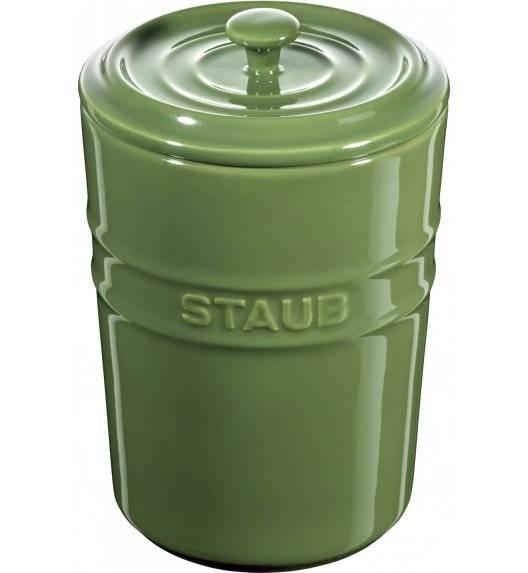 STAUB STORAGE Pojemnik do przechowywania / 1 l / zielony / ceramika