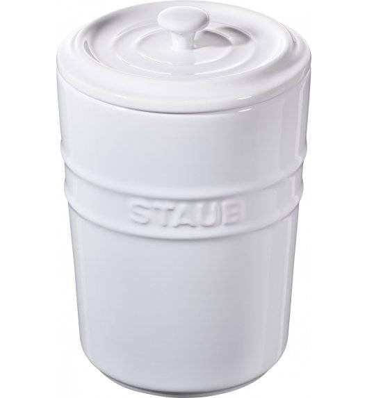STAUB STORAGE Pojemnik do przechowywania / 1 l / biały / ceramika