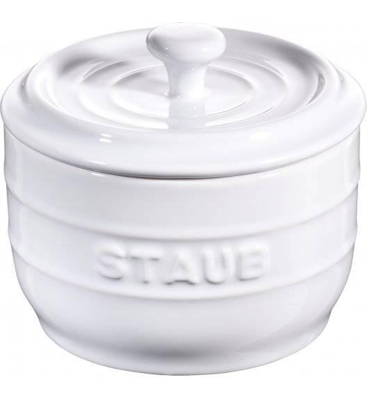 STAUB STORAGE Pojemnik na sól / 250 ml / biały / ceramika
