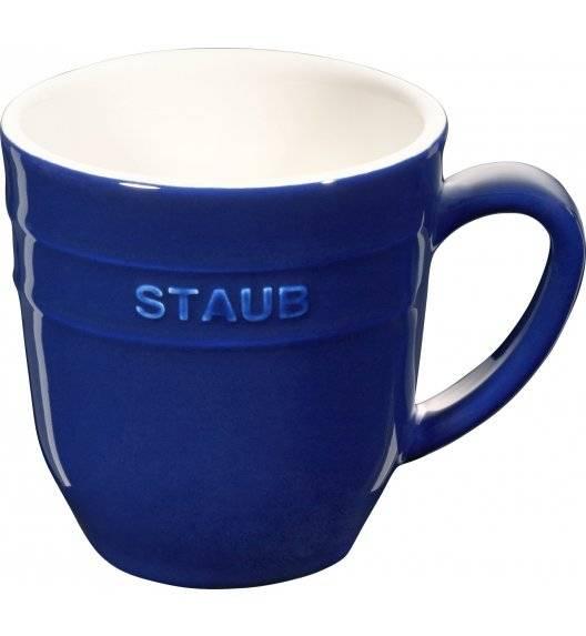 STAUB SERVING Kubek ceramiczny / 350 ml / niebieski / ceramika