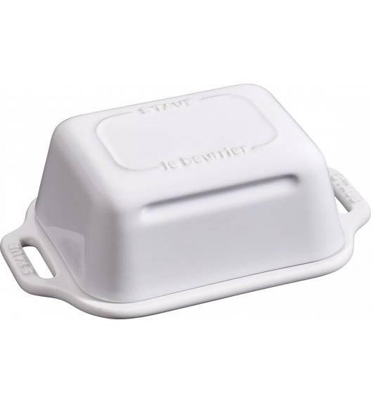 STAUB SERVING Maselniczka / biały / ceramika