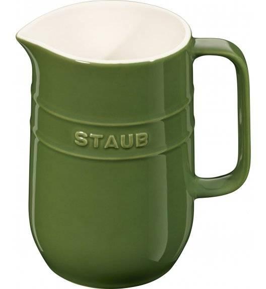 STAUB SERVING Dzbanek ceramiczny / 1 l / zielony / ceramika