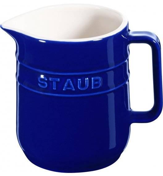 STAUB SERVING Dzbanuszek do mleka / 250 ml / niebieski / ceramika