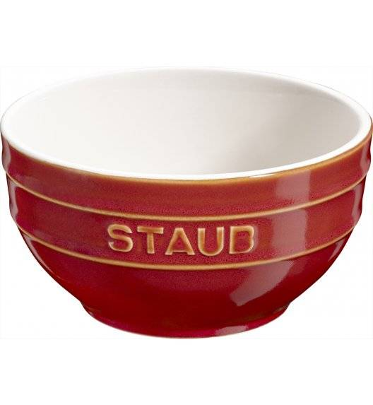 STAUB SERVING Miska okrągła / Ø 12 cm / 0,4 l / kasztanowy / ceramika