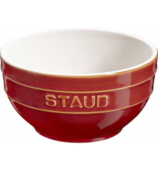 STAUB SERVING Miska okrągła / Ø 14 cm / 0,7 l / kasztanowy / ceramika