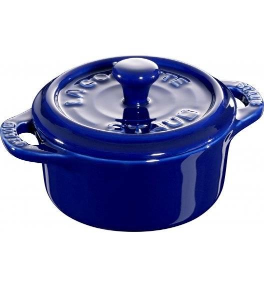 STAUB GIFT GIVING Garnek okrągły do serwowania / 200 ml / niebieski / ceramika