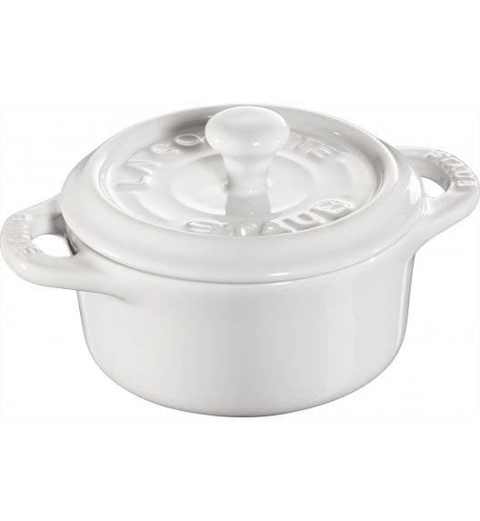 STAUB GIFT GIVING Garnek okrągły do serwowania / 200 ml / biały / ceramika