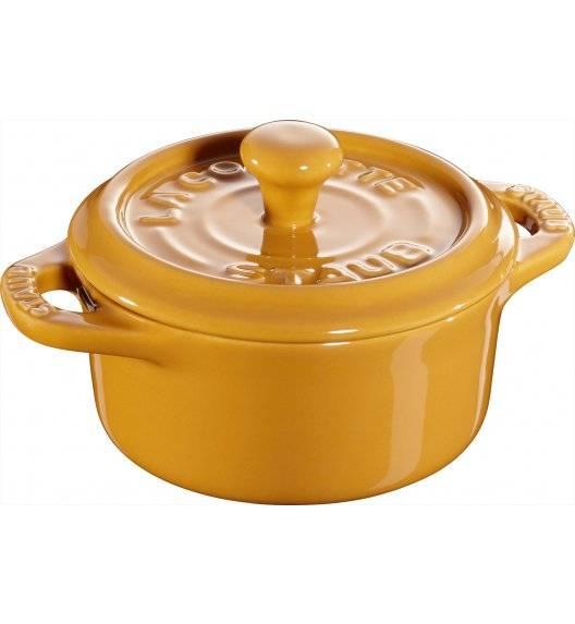 STAUB GIFT GIVING Garnek okrągły do serwowania / 200 ml / musztardowy / ceramika