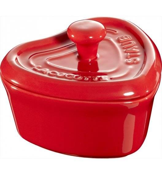 STAUB GIFT GIVING Garnek do serwowania serce / 200 ml / czerwony / ceramika