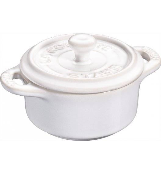 STAUB GIFT GIVING Garnek okrągły do serwowania / 200 ml / kość słoniowa / ceramika