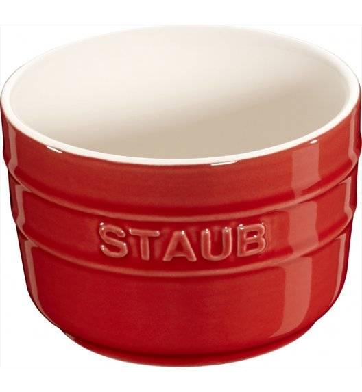 STAUB XS-MINIS Ramekin okrągły / 2 sztuki / 150 ml / czerwony / ceramika
