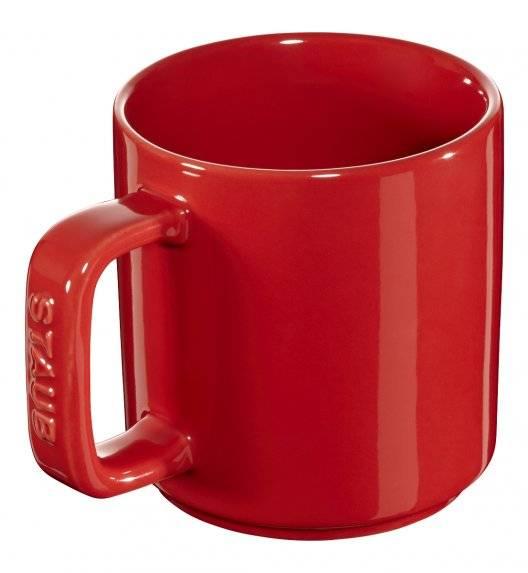 STAUB XS-MINIS Kubek ceramiczny / 2 sztuki / 200 ml / czerwony / ceramika