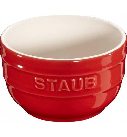 STAUB XS-MINIS Ramekin okrągły / 2 sztuki / 200 ml / czerwony / ceramika