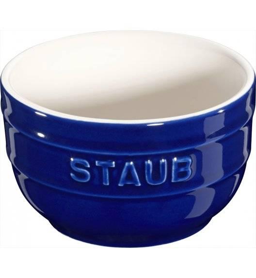 STAUB XS-MINIS Ramekin okrągły / 2 sztuki / 200 ml / niebieski / ceramika