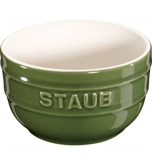 STAUB XS-MINIS Ramekin okrągły / 2 sztuki / 200 ml / zielony / ceramika