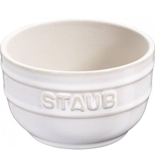 STAUB XS-MINIS Ramekin okrągły / 2 sztuki / 200 ml / kość słoniowa / ceramika