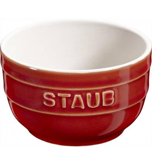 STAUB XS-MINIS Ramekin okrągły / 2 sztuki / 200 ml / kasztanowy / ceramika