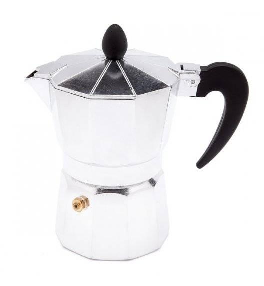 TADAR VENETTO Kawiarka aluminiowa do espresso / 3 filiżanki /180 ml / aluminium, tworzywo sztuczne