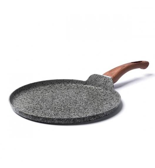 KONIGHOFFER VENGA Patelnia do naleśników granitowa / Ø 26 cm / aluminium, tworzywo sztuczne