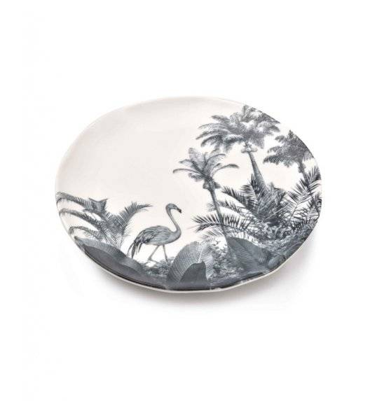 AFFEKDESIGN TROPICAL Talerz deserowy / Ø 18,5 cm / porcelana