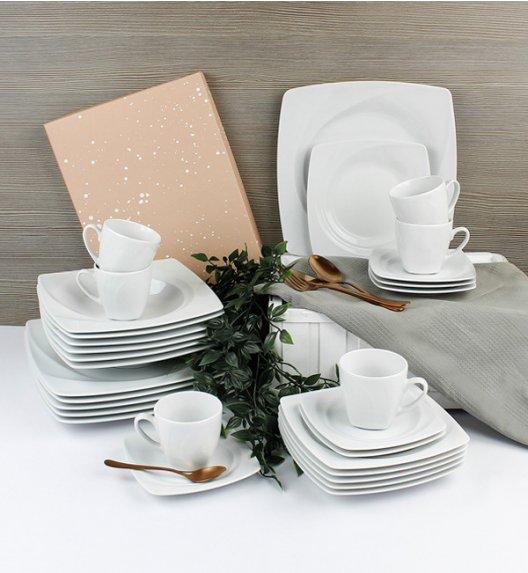 LUBIANA CELEBRATION Serwis obiadowo-kawowy 120 el / 24 os / porcelana