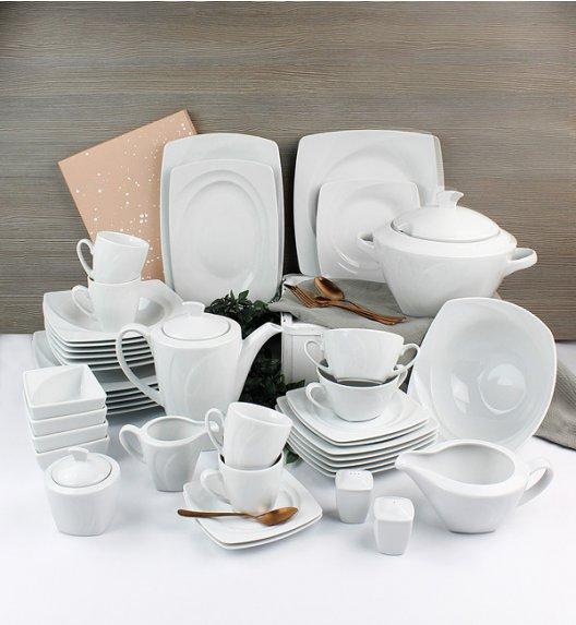LUBIANA CELEBRATION Serwis obiadowo-kawowy 244 el / 24 os / porcelana