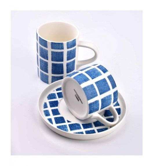 AFFEKDESIGN NAVY Filiżanka ze spodkiem / 225 ml / porcelana