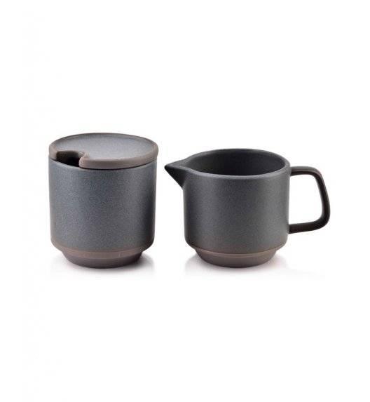 AFFEKDESIGN STONE Cukiernica z mlecznikiem / 250, 260 ml / porcelana
