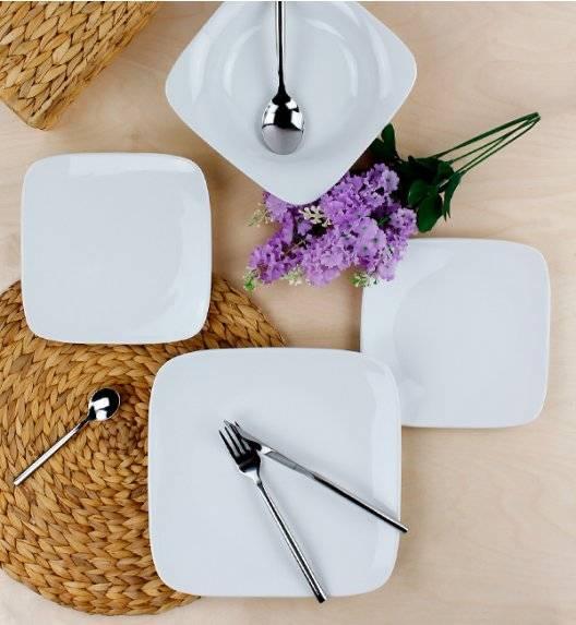 KRISTOFF TIMON Serwis obiadowy 54 el / 18 osób / porcelana