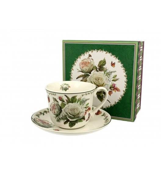 DUO EDITH Filiżanka jumbo ze spodkiem 450 ml / porcelana