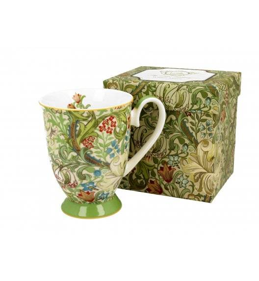 DUO GOLDEN LILY Kubek na stopce 325 ml / porcelana / Art Gallery by William Morris