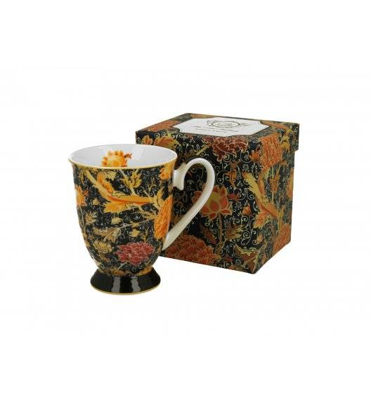 DUO CRAY FLORAL Kubek na stopce 325 ml / porcelana / Art Gallery by William Morris