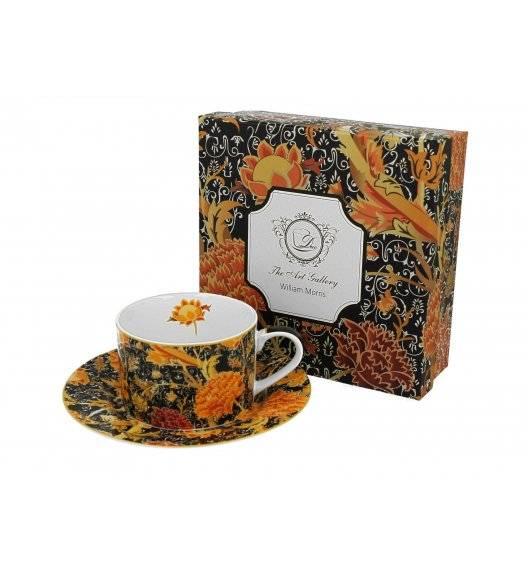 DUO CRAY FLORAL Filiżanka ze spodkiem / 240 ml / porcelana / Art Gallery by William Morris