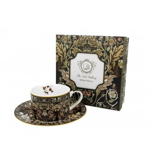 DUO ACANTHUS LEAVES Filiżanka ze spodkiem 240 ml / porcelana / Art Gallery by William Morris