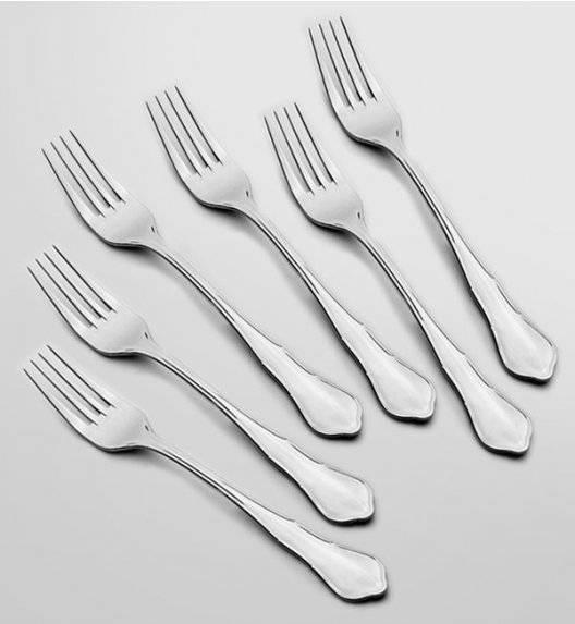 GERLACH BAROK Komplet 6 x Widelec obiadowy LUZ / połysk